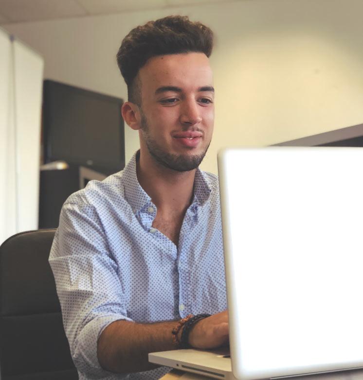 Een werkende Webdesigner